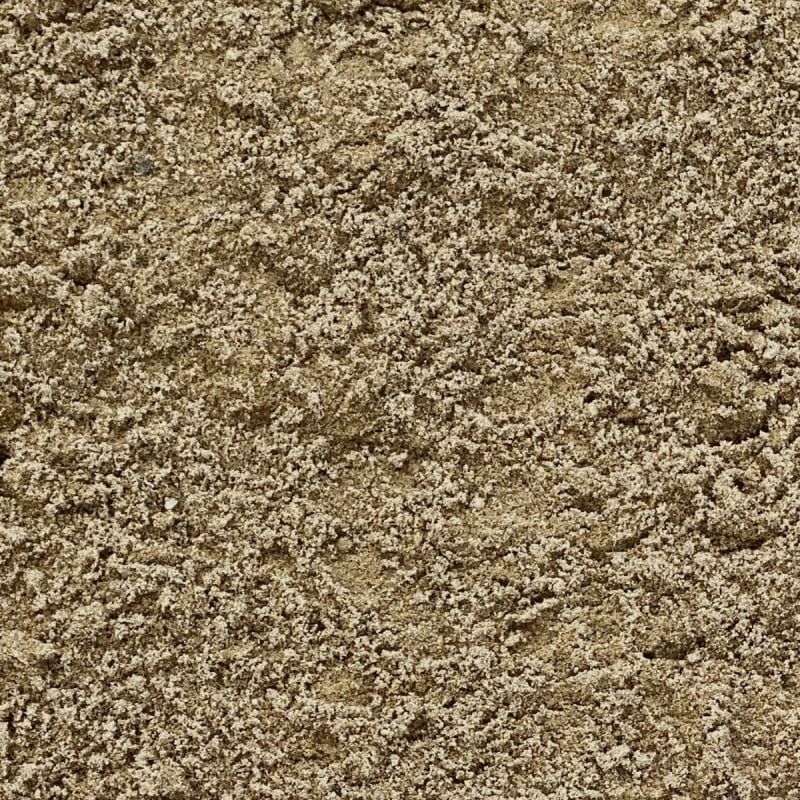 Pictured is our masonry sand! The sand is a light yellow/green color!