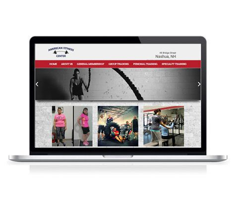 American Fitness Center NH Website