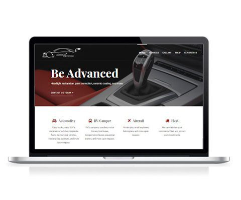 Advanced Mobile Detailing Website