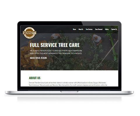 Sennott Tree Service Website
