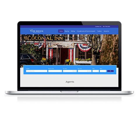 Vine Brook Realty Group Website