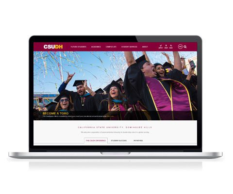 CSUDH Website Screenshot