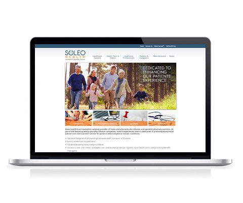 Soleo Health Website