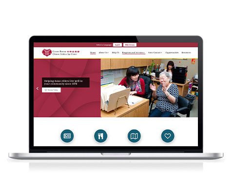 Greater Boston Chinese Golden Age Center Website Redesign